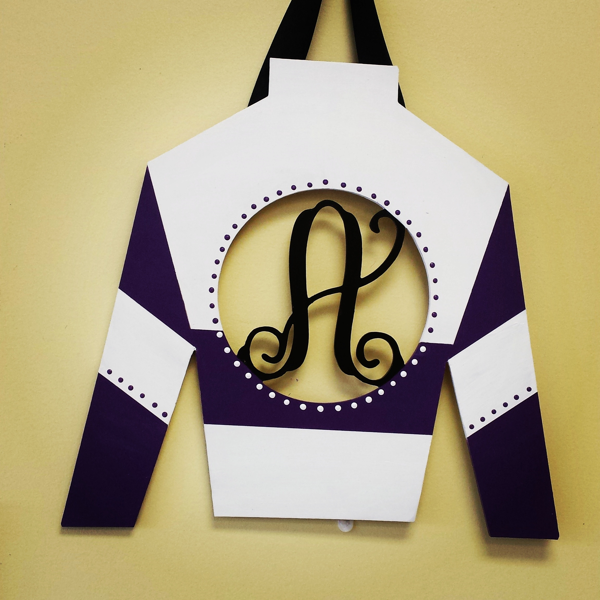 Jockey Silk Monograms 2