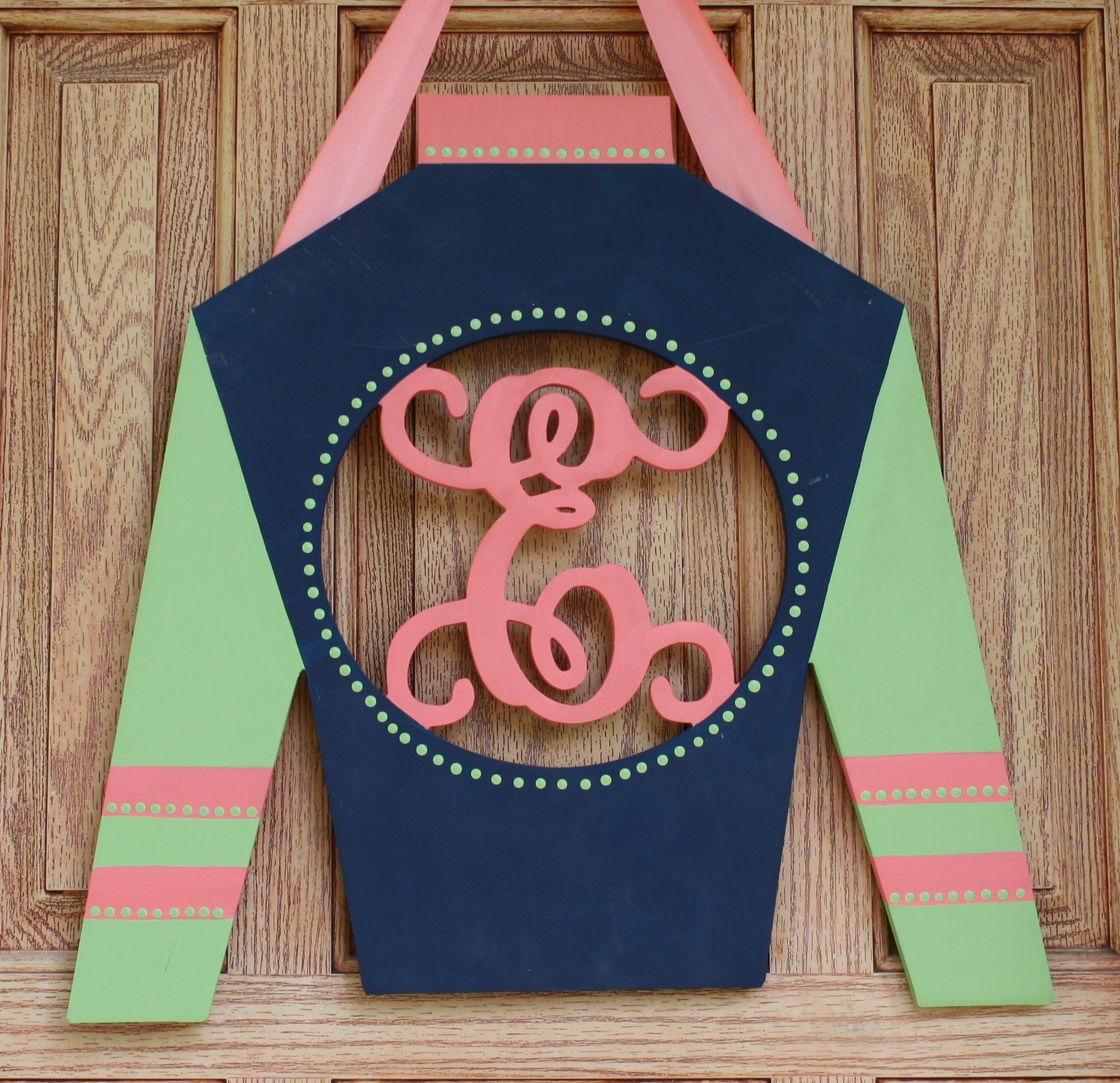 Jockey Silk Monogram